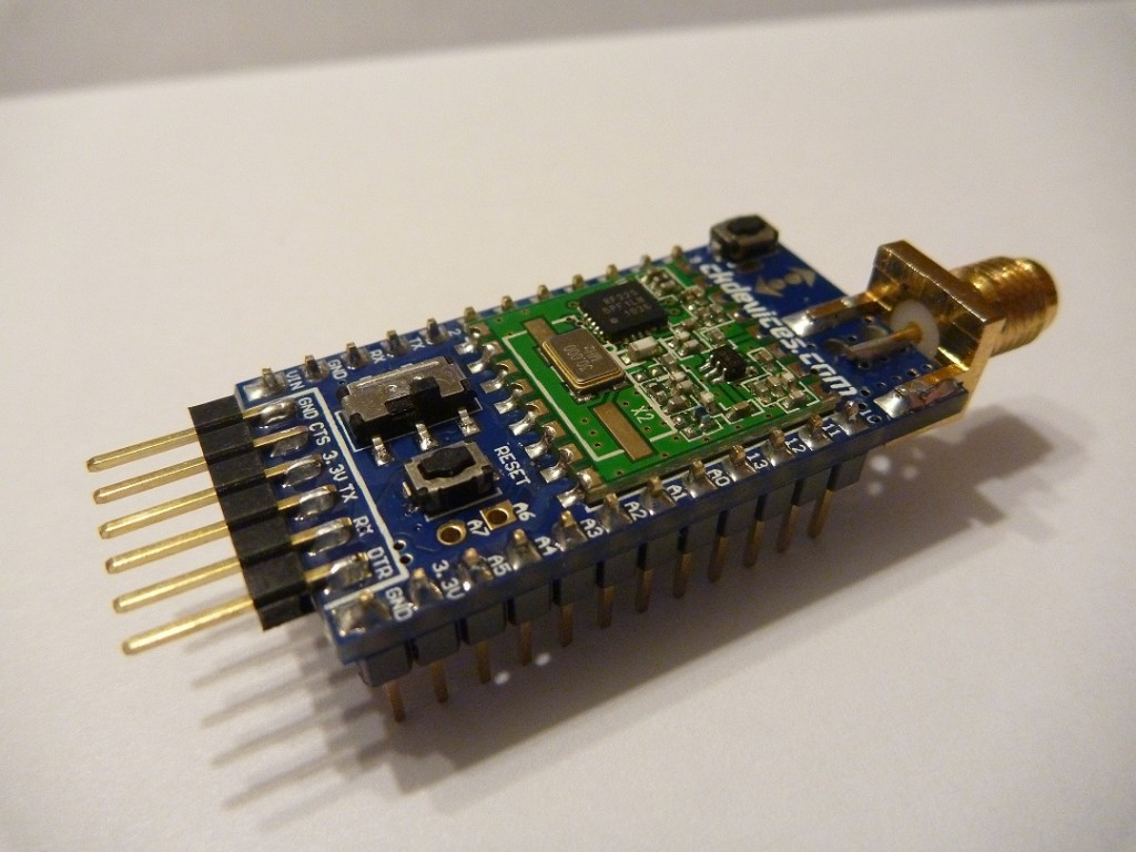 Split arduino based rfm b mhz wireless